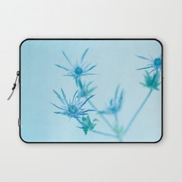 Blue Thistle Laptop Sleeve