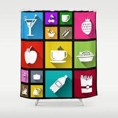 Gastro Windows 8.1 Shower Curtain