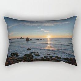 Sunset on the Oregon Coast Rectangular Pillow