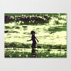 Minty-Fresh Tingles Canvas Print