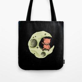 Dig Big Pig Tote Bag