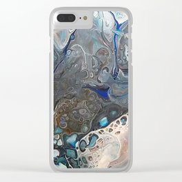 Incoming storm cloud Clear iPhone Case