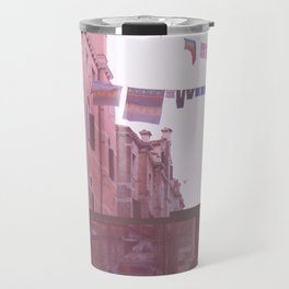 Venezia Glitch Travel Mug