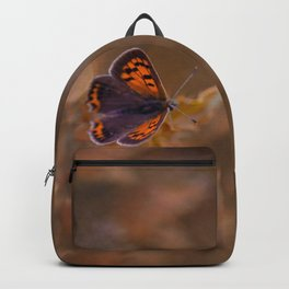 Small Copper butterfly Backpack