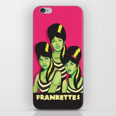 Frankettes iPhone Skin