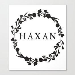 Häxan Canvas Print