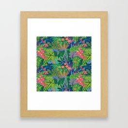Laia&Jungle Framed Art Print
