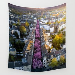 Colorful Street Wall Tapestry