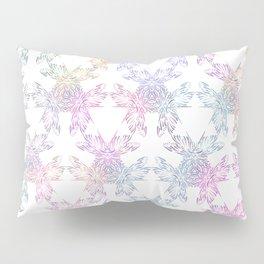 Pastel Dragonfly Kaleidoscope Pillow Sham