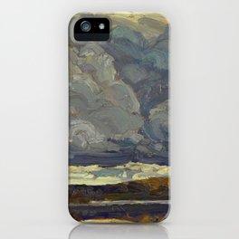 Tom Thomson Grey Sky 1914 Canadian Landscape Artist iPhone Case