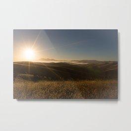 Sunrise Sunshine Metal Print