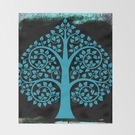 Bodhi Tree0107 Throw Blanket