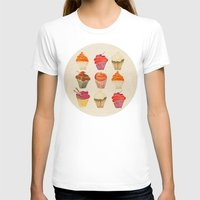 cupcakes T-shirts featuring Cupcakes by Cat Coquillette