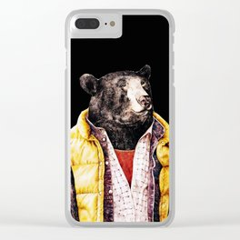 bear copy Clear iPhone Case