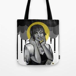 Saint of Soggy Cigarettes  Tote Bag