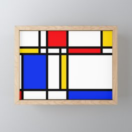 Mondrian Framed Mini Art Print