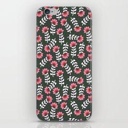 Camelita Retro Folk Flower iPhone Skin