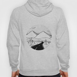 On the way to the desert Hoody