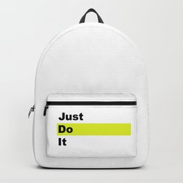 just Do It Backpack