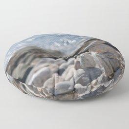 Balancing Serenity Rocks Floor Pillow
