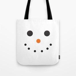 Snowman Holiday Tote Bag