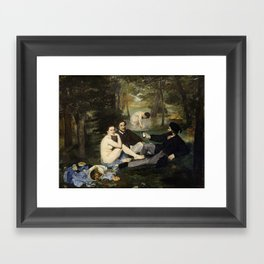 Luncheon Framed Art Print