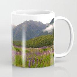Lupines at Cascade Creek Coffee Mug