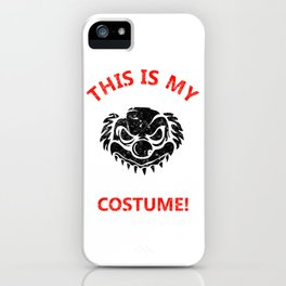 This Is My Scary Clown Costume Funny iPhone Case