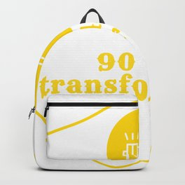 90 days transformation gym workout digital art design Backpack