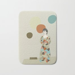 These are your senses Bath Mat