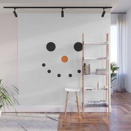 Snowman Holiday Wall Mural