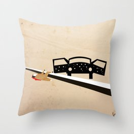 Santino Ambushed Throw Pillow