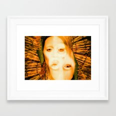 A Saint with Vision - Beauty, like supreme dominion Is but supported by opinion Framed Art Print