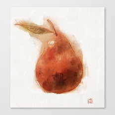 Perfect Pear Canvas Print