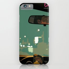 Drive movie poster iPhone Case