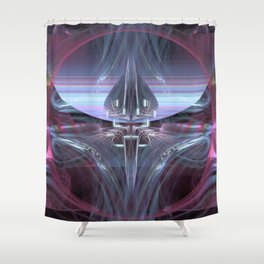 ILLUSTRATION.INTERFACE Shower Curtain