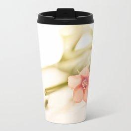 Beautiful origanum flower Travel Mug