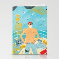 murray Stationery Cards featuring Thrill Murray by Nicholas Stevenson