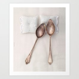 The Art of Spooning Art Print