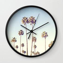 Cali Palms Wall Clock