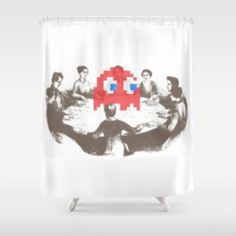 Medium Difficulty Shower Curtain