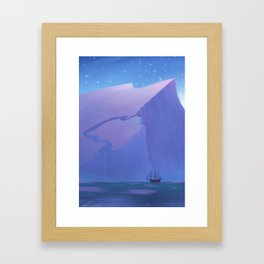 Northern Winds Framed Art Print