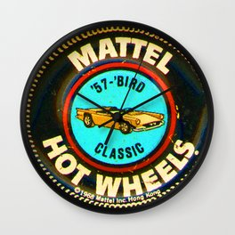 Hot Wheels '57 Bird Classic Wall Clock
