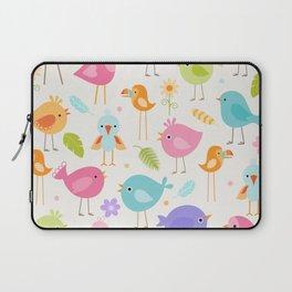 Birds - Off White Laptop Sleeve