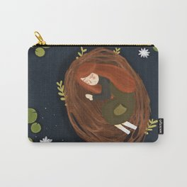 Girl in a nest Carry-All Pouch