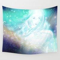 aurora Wall Tapestries featuring Aurora by Stevyn Llewellyn