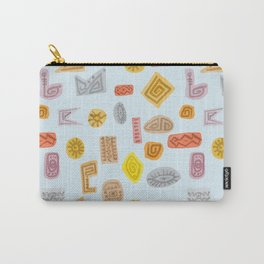 Trible shapes Pattern Carry-All Pouch