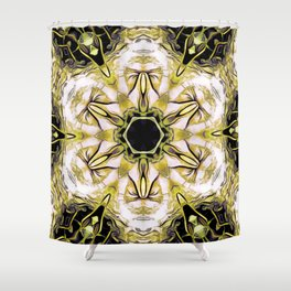 The Abstract Visionary Shower Curtain