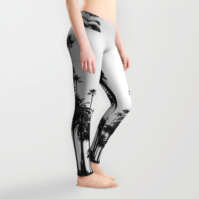Los Angeles Black and White Leggings