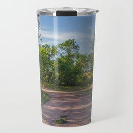 Backroad by the Knife River, North Dakota 1 Travel Mug